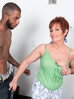 Young, black cock for MILF Ruby O\'Connor